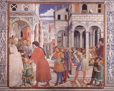 The School of Tagaste - Benozzo Gozzoli 1464-1465