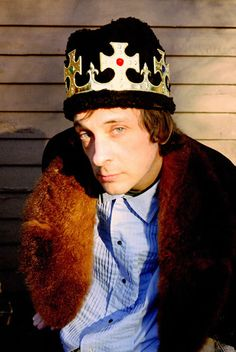 """Vic Chesnutt (1964 - 2009) Singer/songwriter who was partially paralyzed from an auto accident at age 18, albums include """"West of Rome"""" and """"About to Choke"""", he had a small role in the movie """"Sling Blade"""""""