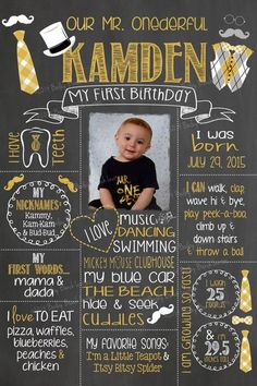 ONEderful Birthday Chalkboard, Bow Ties, Bowtie, Little Man, Boys First Birthday Party Ideas, First Birthday Posters, Baby Boy First Birthday, Birthday Photos, Bowtie Birthday Party, Birthday Cakes, 1st Birthday Board, 1st Birthday Boy Themes, Birthday Signs