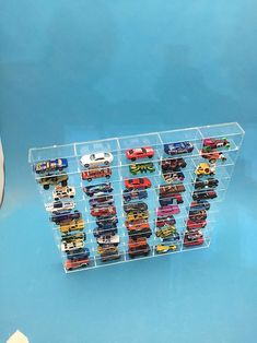 Plexiglass Sheets, Hot Wheels Display, Toy Cars For Kids, Acrylic Sheets, Hot Wheels Cars, Displaying Collections, Display Case, Clear Acrylic, Make It Yourself