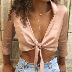 Crop top and accessories
