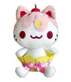 Cupcake Kitty Plushie