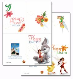 Tinker Bell and the Legend of the NeverBeast Easter Cards - 0 Points