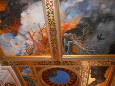 Plafondschilderingen Huis De Pinto, St.Antoniebreestraat Amsterdam. Via Sneuper Dokkum.
