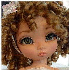 Disney animators enixeatelier custom doll by Enixeatelier Doll Wigs, Doll Hair, Ooak Dolls, Doll Face Paint, Doll Painting, Disney Princess Dolls, Disney Dolls, Pretty Dolls, Beautiful Dolls
