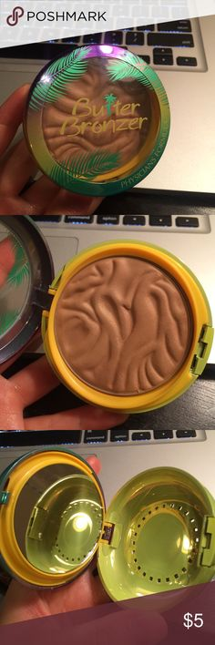 closet closing Physicians Formula Butter Bronzer. Just not for me. Only used 1 time with clean brush. Wet N Wild bronzer. Used. Physicians Formula Makeup Bronzer