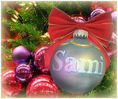 """Sami"" Ornament / Christmas Ornament / Days of our Lives / #DAYS"