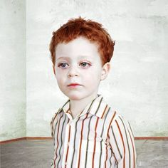 Loretta Lux, Study of a Boy 3, 2002; photograph; dye destruction print, 11 3/4 in. x 11 3/4 in. (29.85 cm x 29.85 cm); Collection SFMOMA