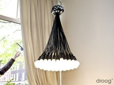 85 Lamps Chandelier | Droog Lighting | by Rody Graumans