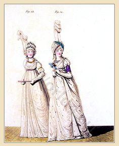 Gallery of Fashion. Published by Nikolaus von Heideloff, London.