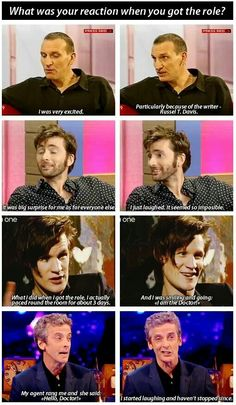 On becoming the Doctor