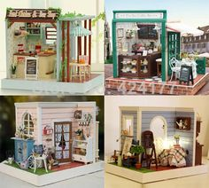 100 Best Doll House Kits Images Dollhouse Miniatures Miniature