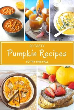 Are you getting in the mood for pumpkin yet? Pumpkin everything is starting to move into stores and we've rounded up some great pumpkin recipes for you to try out.