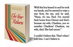 The Year of the Return by Nathaniel Popkin is a vivid story of families trying to reconnect with and support each other through trauma and loss, and a meditation on the possibility of moving on to a better future. Here is an exclusive excerpt from the novel.
