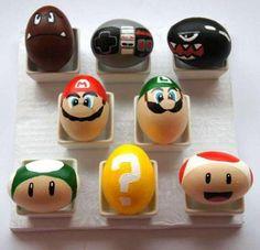 Super Mario eggs