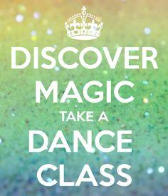 Discover magic: Take a dance class