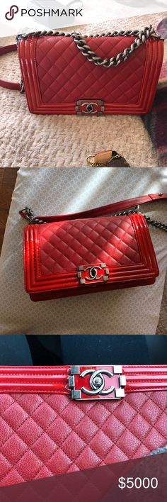 My new baby!❤️ Just share not for sale my new baby from my new posh friend CHANEL Bags Mini Bags