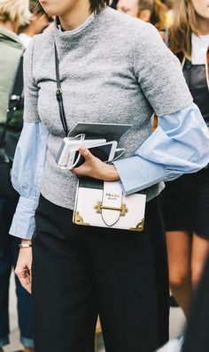 64ba30dd79b4 7 Best Prada Cahier Bag images | Prada handbags, Prada purses, Beige ...