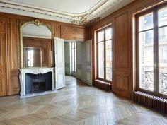 Old Paris apartment Victorian interior room