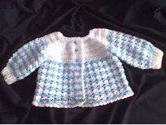 Izabel Biali: Baby Crochet Cardigan