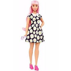 Check out the Barbie Fashionistas Doll 48 Daisy Pop - Curvy (DVX70) at the official Barbie website. Explore the world of Barbie today!