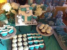 Breakfast at Tiffany's theme baby shower