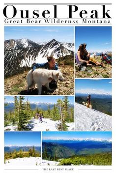 Dog Friendly Hikes Near Glacier National Park - Ousel Peak Trail in Flathead County's Great Bear Wilderness Camping World Rv Sales, Camping In Ohio, Camping List, Used Camping Trailers, Park Around, Best Hikes, Day Hike, Hiking Trails, Dog Friends
