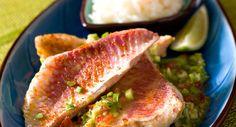 Filets de rouget à la sauce féroceVoir la recette des Filets de rouget à la sauce féroce >>
