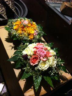 Mine første dekorasjoner på blomsterbutikken