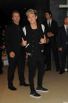 NIALL HORAN. he looks really hot in that outfit , jussayin
