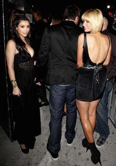 16 photographs of Paris Hilton and Kim Kardashian's circa 2006 friendship: Kim Kardashian 2006, Paris Hilton Kim Kardashian, Kardashian Photos, Kardashian Style, Kardashian Jenner, Sean Diddy, Kim K Style, Girls Night Out, Matching Outfits