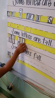 Curious Firsties: Handwriting: Tall, Small and Fall