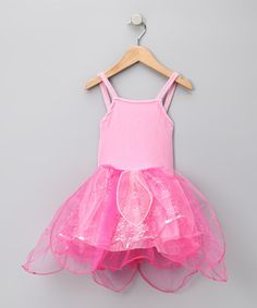 Take a look at this Pink Fairy Princess Dress - Girls by My Princess Academy on #zulily today!