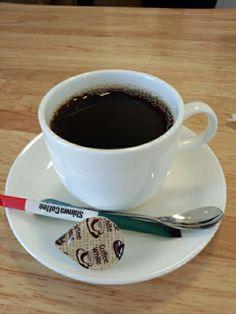 食後はブレンドコーヒーホットいただいています。おいしいです。