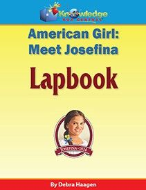 American Girl: Meet Josefina Lapbook $17.99-$24.29 This lapbook goes along with The American Girl book Meet Josefina. Create a keepsake that will last for years to come while exploring this fascinating period of history. http://www.theoldschoolhouse.com/product/american-girl-meet-josefina-lapbook/