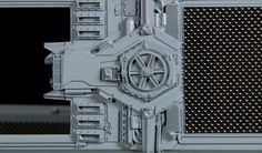 Curiosities: Detailed Close-Ups of Star Wars Spaceships