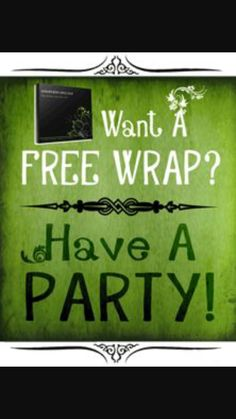 I want to have a party! I want to show you that our wraps work... I wanna wrap my hostess for FREE! Book your party now!  http://www.bodywrapparties.com/CO18416/