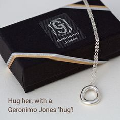 f3ef51ceb A 'Hug' pendant ... this simply beautiful necklace comes ready for  presentation