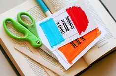 reading is cool bookmark