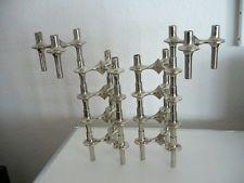 10 Steckelemente BMF Nagel Quist Kerzenständer Candlesticks Design Panton Eames