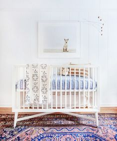 Unique baby boy nursery room with animal design (19)