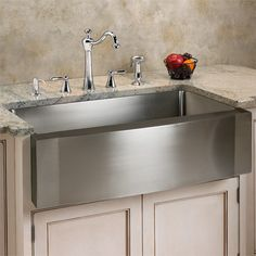 Farmhouse Sink Mounting Options : Sink Options on Pinterest Stainless steel kitchen sinks, Farmhouse ...
