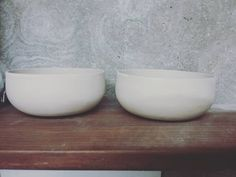 Bowls bone dry. More about ceramics at angrypixie.co