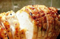Honey Baked Turkey Breast, yummy!