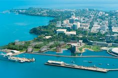 """Darwin, Australia: Closer to Indonesia than to any other Australian city, Darwin is the capital of the """"Top End"""" - the remote, vast Northern Territory. Home to more than half of the territory's population, the city reflects the rugged endurance and individualism required to survive the Outback. #PrincessCruises #Travel"""