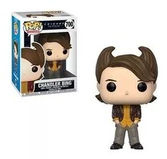 Funko Pop Tv Friends The Tv Series Collectors Set 1 Chandler Bing Hair, Joey Tribbiani In Chandlers Clothes, Ross Geller Chandler Bing, Pop Vinyl Figures, Funko Pop Figures, Chandler Friends, Pop Figurine, Figurines Funko Pop, Serie Friends, Friends Tv Show, State Of Decay