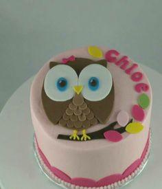 buhos muy de moda en decoración y pastelería para niñas temporada 2014