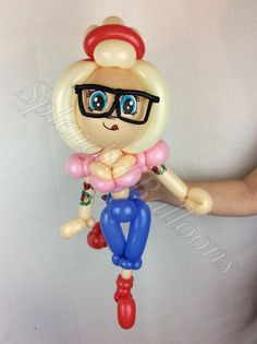 Balloon art, amazing, cool, party, splendid balloons, John Justice, cute, adorable, amazing, California, , hipster, moder, girl, glasses, tattoos, hottie, beauty, sexy