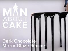dark chocolate mirror glaze recipe