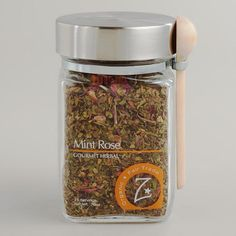 One of my favorite discoveries at WorldMarket.com: Zhena's Gypsy Tea Mint Rose Loose Leaf Tea